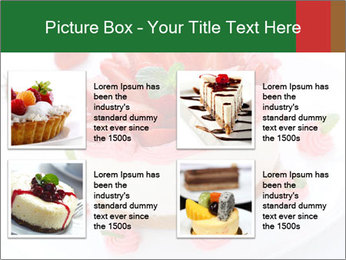 Pink Cheesecake with Strawberries PowerPoint Template - Slide 14