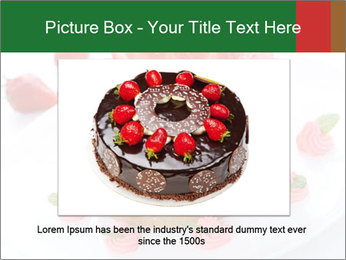 Pink Cheesecake with Strawberries PowerPoint Template - Slide 15