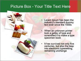 Pink Cheesecake with Strawberries PowerPoint Template - Slide 17