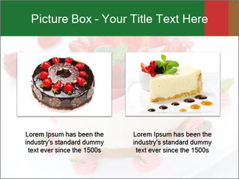 Pink Cheesecake with Strawberries PowerPoint Template - Slide 18