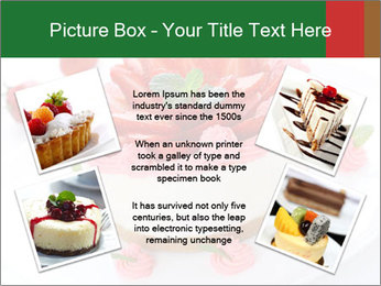 Pink Cheesecake with Strawberries PowerPoint Template - Slide 24