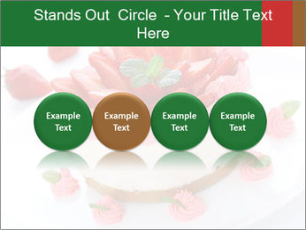 Pink Cheesecake with Strawberries PowerPoint Template - Slide 76