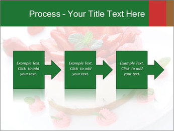 Pink Cheesecake with Strawberries PowerPoint Template - Slide 88