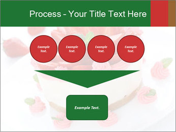 Pink Cheesecake with Strawberries PowerPoint Template - Slide 93