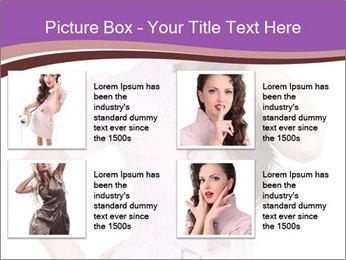 Sexual Secretary PowerPoint Template - Slide 14