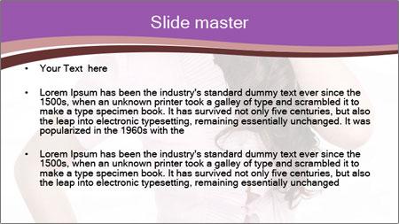 Sexual Secretary PowerPoint Template - Slide 2