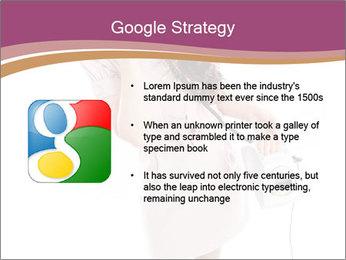 Surprised Girl Speaking Over Phone PowerPoint Templates - Slide 10