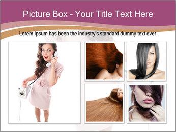 Surprised Girl Speaking Over Phone PowerPoint Templates - Slide 19