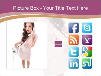 Surprised Girl Speaking Over Phone PowerPoint Templates - Slide 21