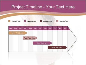 Surprised Girl Speaking Over Phone PowerPoint Templates - Slide 25
