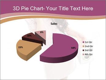 Surprised Girl Speaking Over Phone PowerPoint Templates - Slide 35