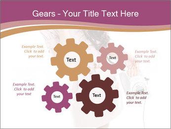 Surprised Girl Speaking Over Phone PowerPoint Templates - Slide 47
