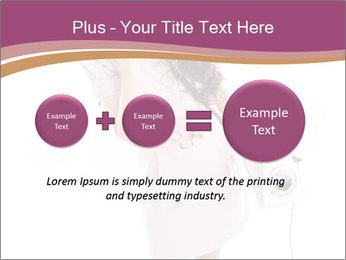 Surprised Girl Speaking Over Phone PowerPoint Templates - Slide 75