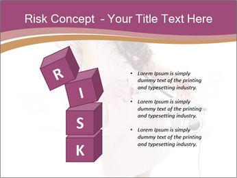 Surprised Girl Speaking Over Phone PowerPoint Templates - Slide 81