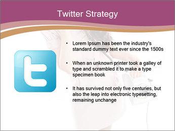 Surprised Girl Speaking Over Phone PowerPoint Templates - Slide 9