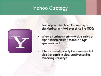 Lady Spying PowerPoint Template - Slide 11