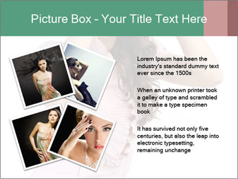 Lady Spying PowerPoint Template - Slide 23