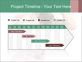 Lady Spying PowerPoint Template - Slide 25