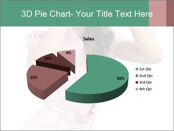 Lady Spying PowerPoint Template - Slide 35