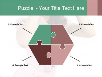 Lady Spying PowerPoint Template - Slide 40