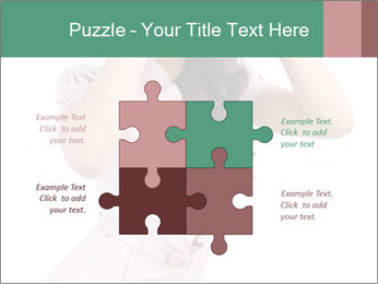 Lady Spying PowerPoint Template - Slide 43