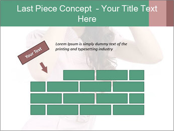 Lady Spying PowerPoint Template - Slide 46