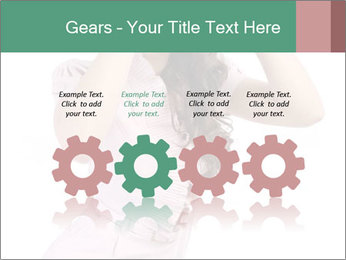 Lady Spying PowerPoint Template - Slide 48