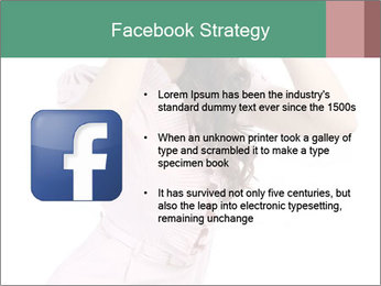 Lady Spying PowerPoint Template - Slide 6
