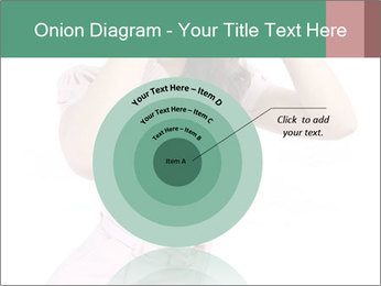 Lady Spying PowerPoint Template - Slide 61