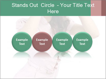 Lady Spying PowerPoint Template - Slide 76