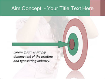 Lady Spying PowerPoint Template - Slide 83