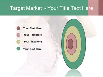 Lady Spying PowerPoint Template - Slide 84