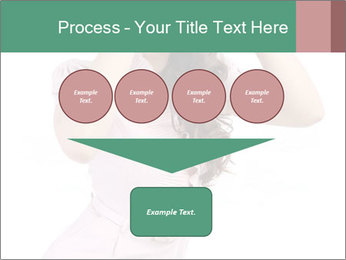 Lady Spying PowerPoint Template - Slide 93