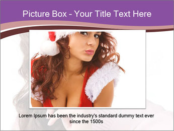 Pin Up Lady with Secrets PowerPoint Templates - Slide 15