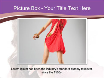 Pin Up Lady with Secrets PowerPoint Templates - Slide 16