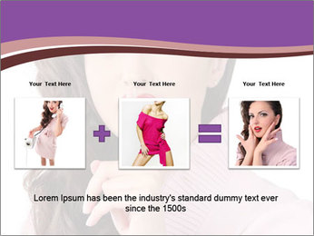 Pin Up Lady with Secrets PowerPoint Templates - Slide 22