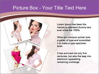Pin Up Lady with Secrets PowerPoint Templates - Slide 23
