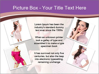 Pin Up Lady with Secrets PowerPoint Templates - Slide 24