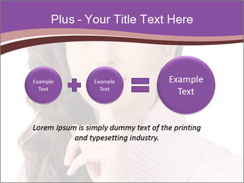 Pin Up Lady with Secrets PowerPoint Templates - Slide 75