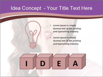 Pin Up Lady with Secrets PowerPoint Templates - Slide 80