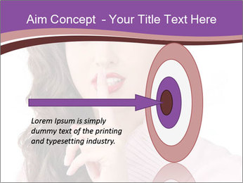 Pin Up Lady with Secrets PowerPoint Templates - Slide 83
