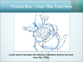 Water Tulip PowerPoint Template - Slide 16