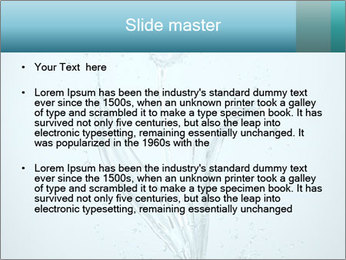 Water Tulip PowerPoint Template - Slide 2