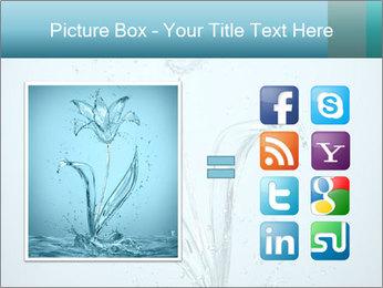 Water Tulip PowerPoint Template - Slide 21