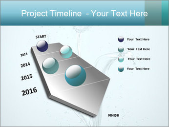 Water Tulip PowerPoint Template - Slide 26