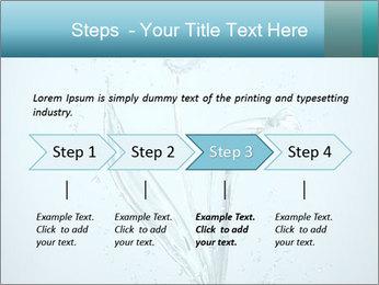 Water Tulip PowerPoint Template - Slide 4