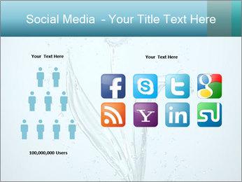 Water Tulip PowerPoint Template - Slide 5