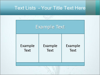 Water Tulip PowerPoint Template - Slide 59