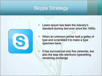 Water Tulip PowerPoint Template - Slide 8