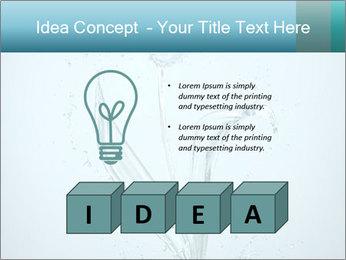 Water Tulip PowerPoint Template - Slide 80